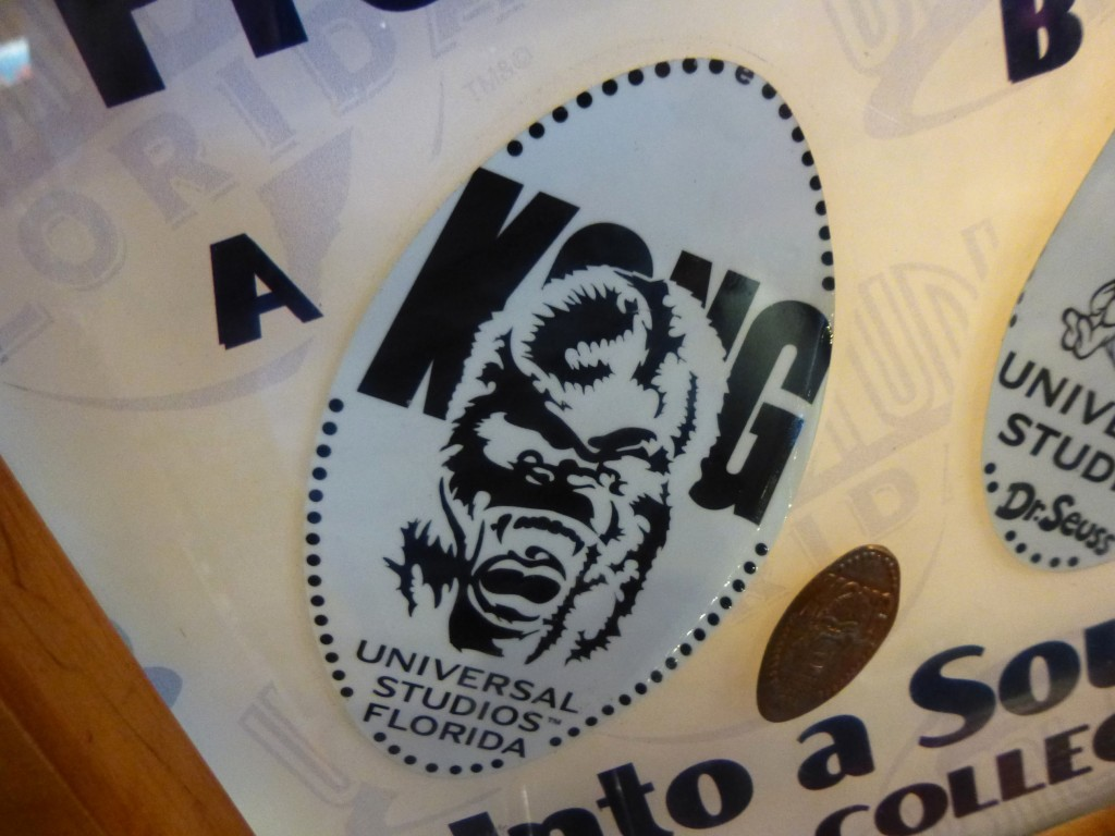 King Kong Lives! Still available in the penny presser at Universal main store in USF, twelve years after the closure of Kongfrontation.