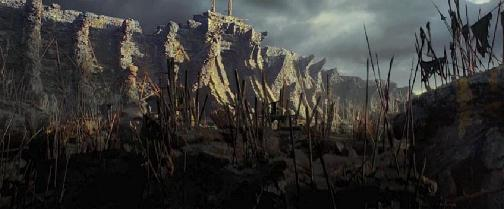 Wall that keeps us safe from the beasts of Skull Island. Is this what they're building?