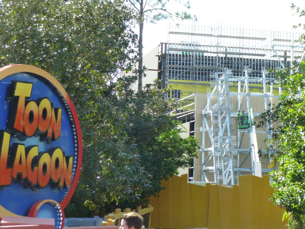 The view from Toon Lagoon