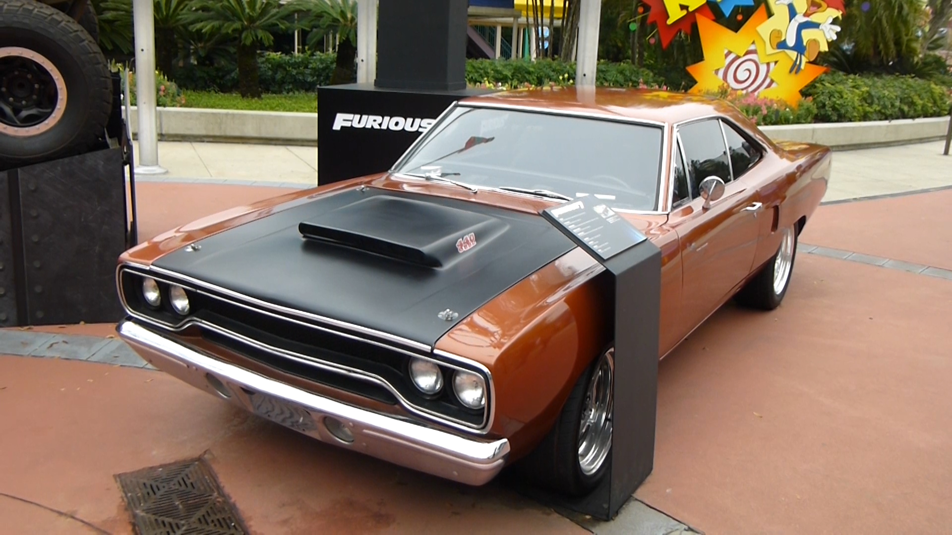 Used Cars Florida >> Furious 7 Screen Used Cars On Display At Universal Studios