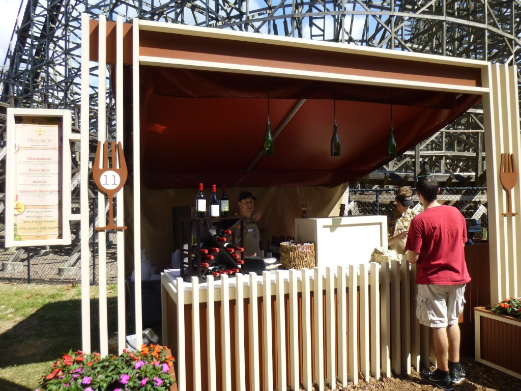 The fest offers 60 fine wines to try and 50 craft beers. Wine isn't really our thing so we stuck to tasting food on our trip.