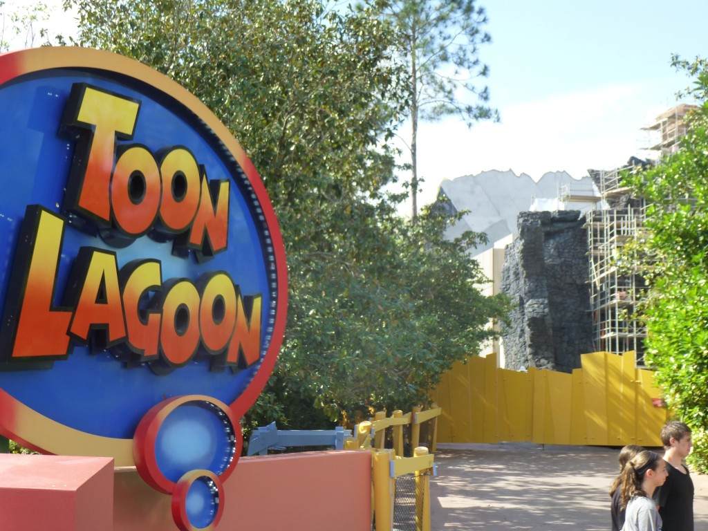 Approaching from Toon Lagoon