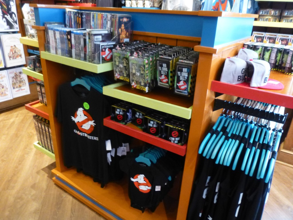 This store has other great merch from Ghostbusters, Jaws, Psycho, The Godfather and more!