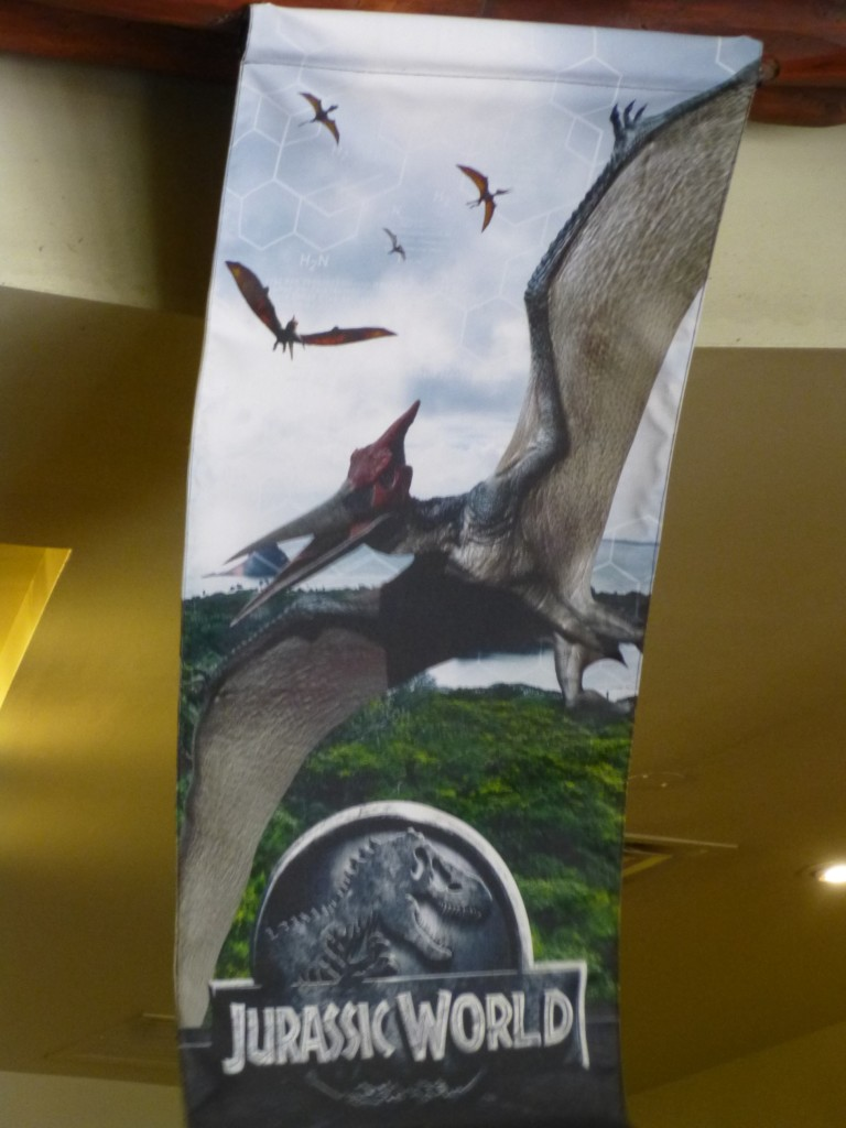 Terrifying Pteranodons