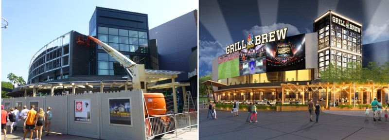 Rumors Bar And Grill >> NBC Sports Grill & Brew Construction Update at Universal ...