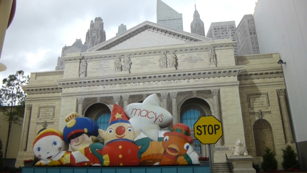 The New York Library facade was recently refreshed