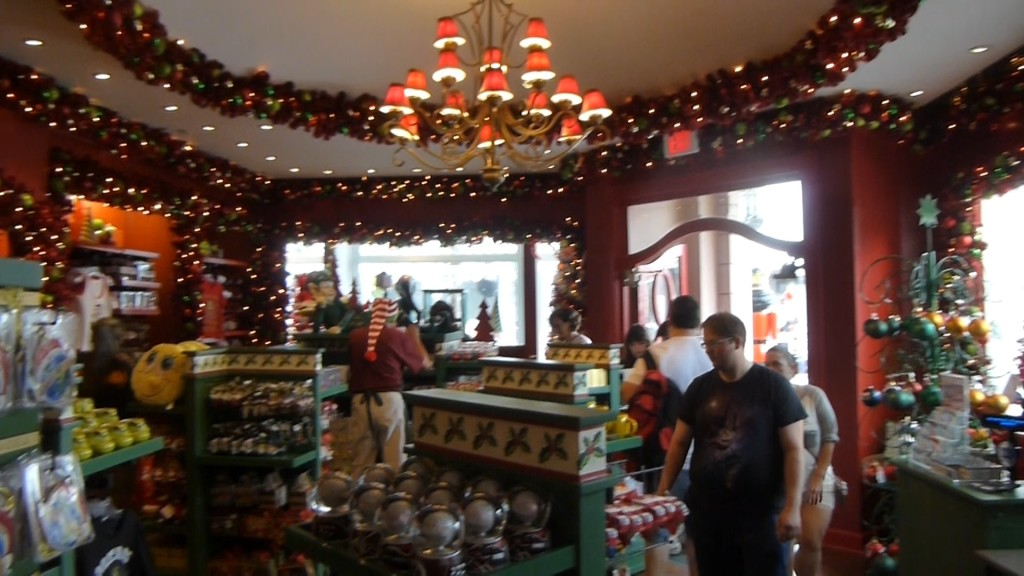 Inside the Holiday Shop