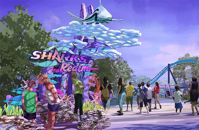 Shark's Realm Concept Art