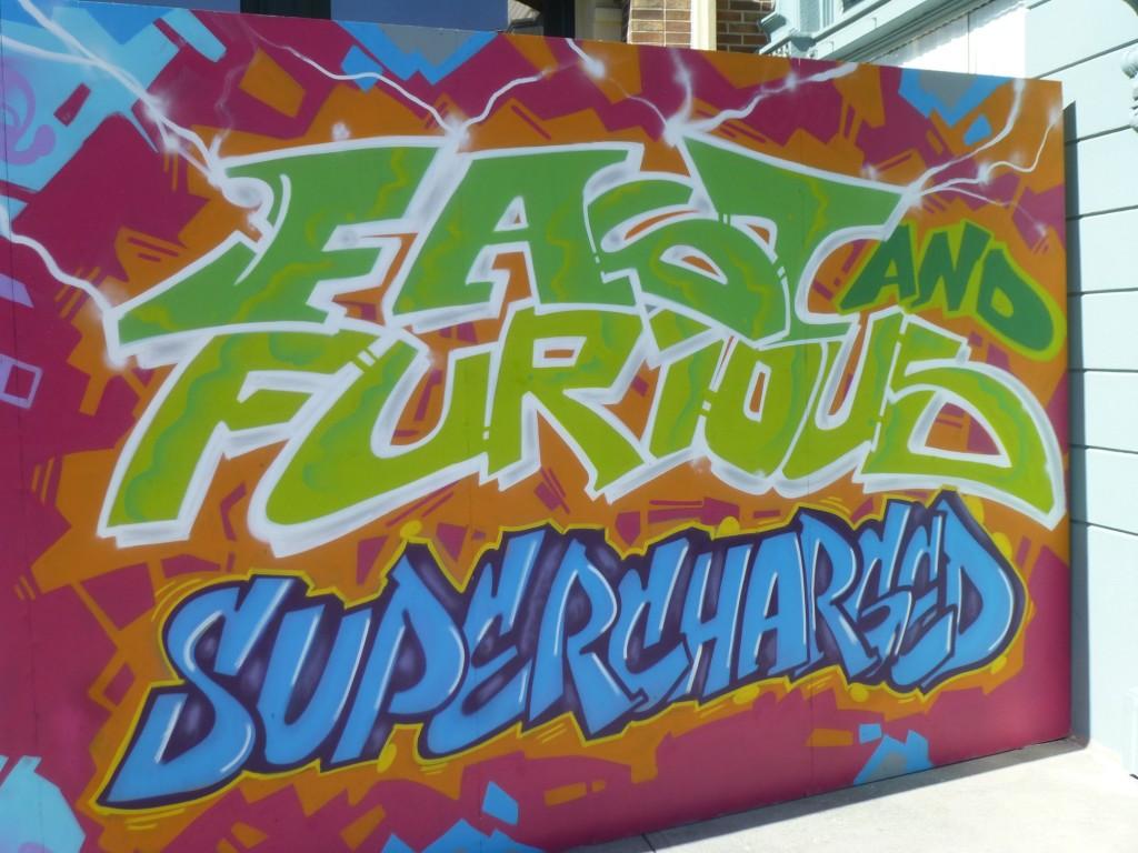 Last piece of graffiti art