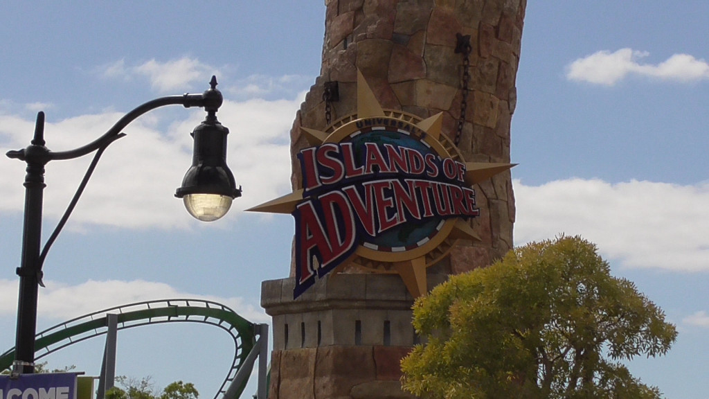 Welcome to Islands of Adventure!