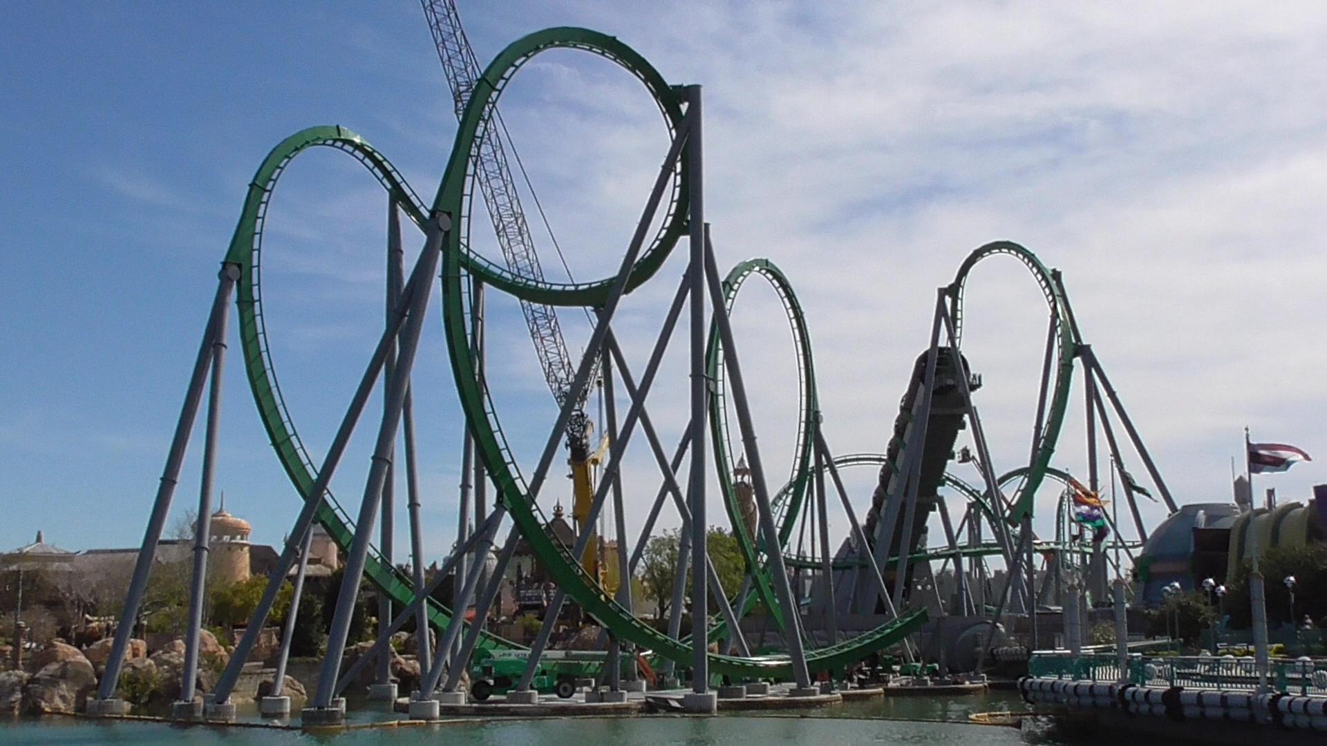 incredible hulk coaster - HD1920×1080