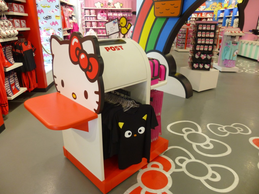 Write a letter and send it to Hello Kitty here!