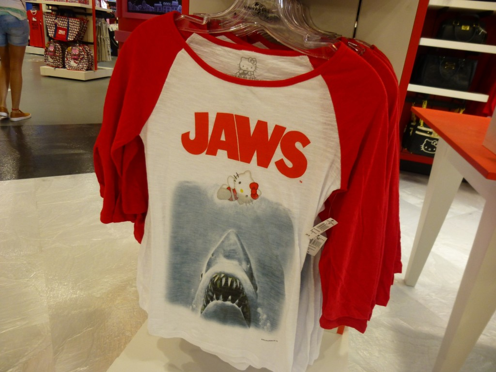 Exclusive Jaws shirt
