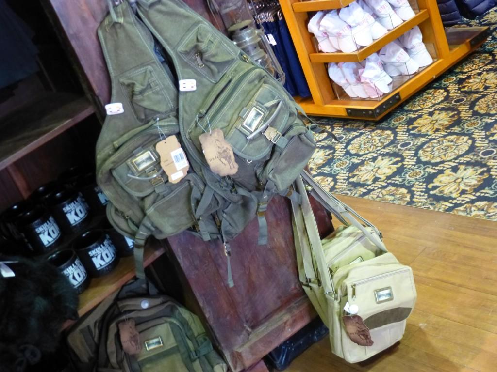 Universal-branded adventure bags