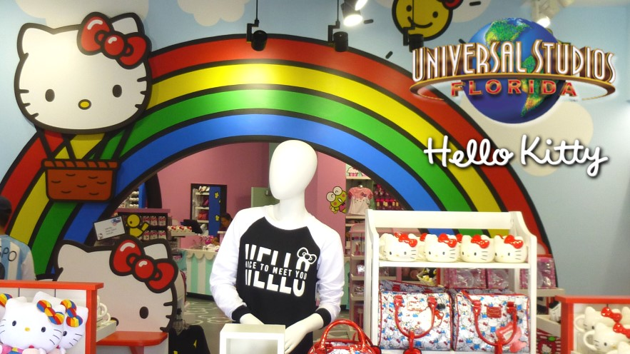 Hello Kitty Store Opens At Universal Studios Florida