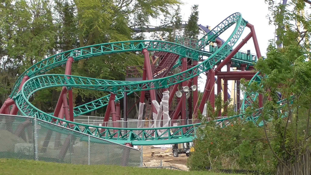 Closer view of ride track from Africa