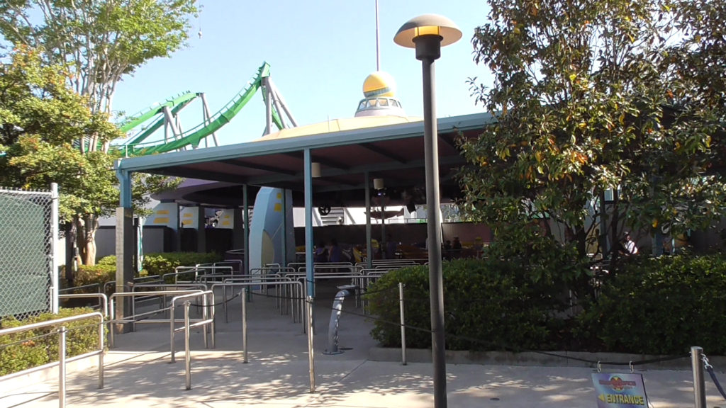 Storm Force from temp entrance