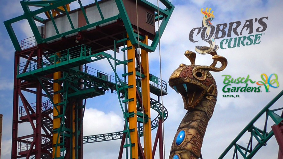 Cobra S Curse Spinning Coaster Construction Update And