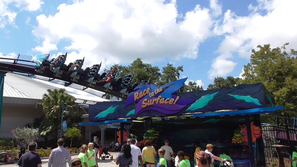 New carnival game added near Mako entrance