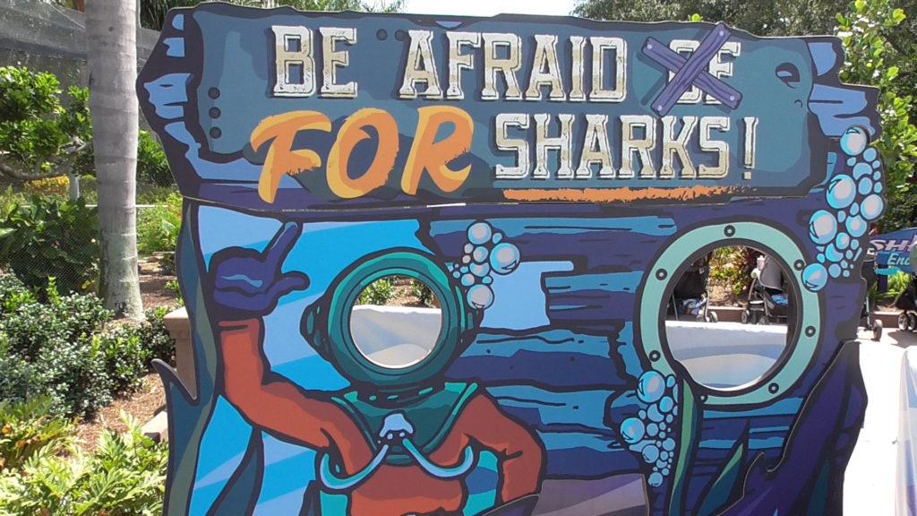 Be afraid FOR sharks!