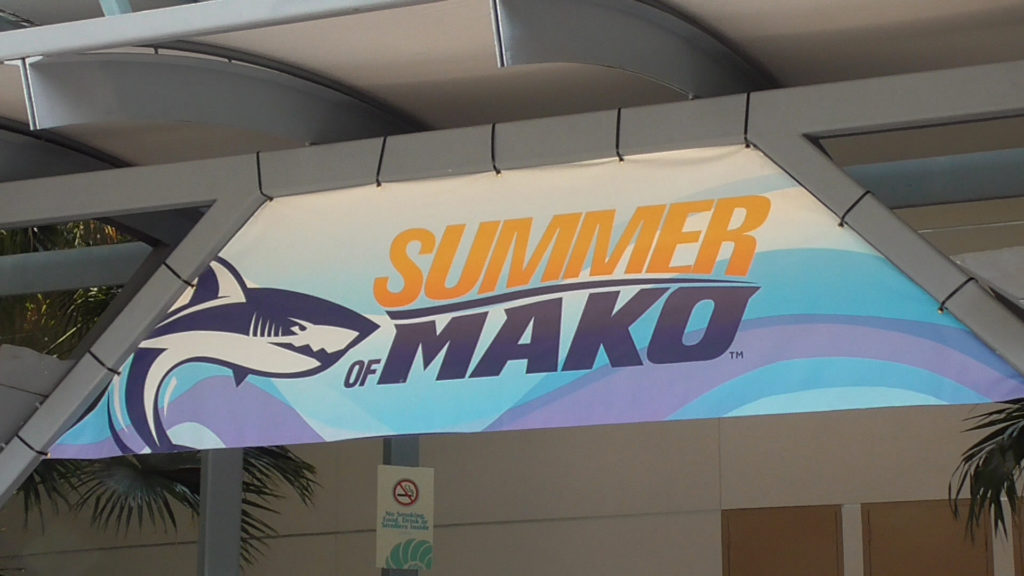 Mako Rising presentation in the theater has ended