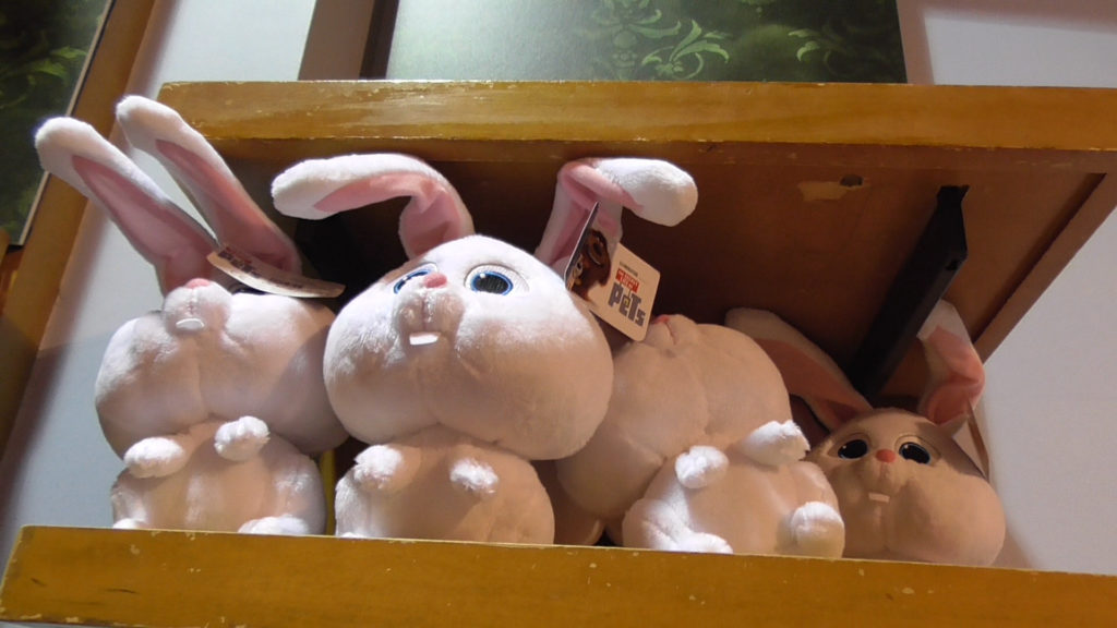 Yay! Plush pets have arrived: Snowball the bunny
