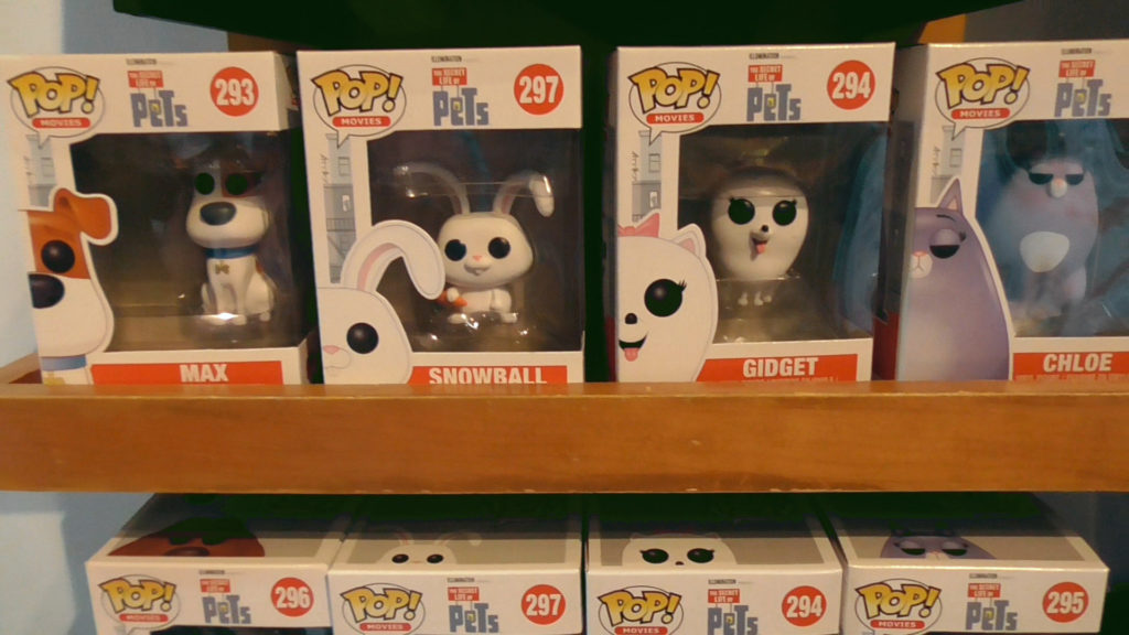 More Pop! figures, including Snowball