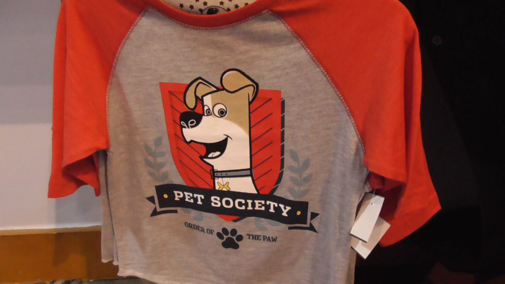 One last new shirt for kids, with a cartoony design