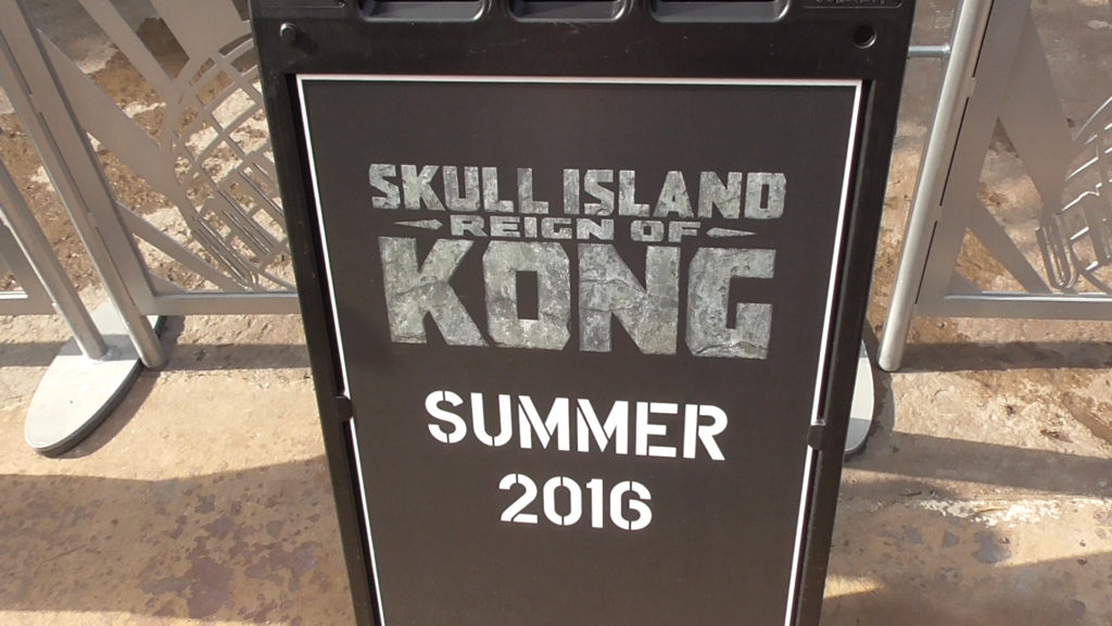 Skull Island: Reign of Kong has been soft opening every day in the late afternoon since last week