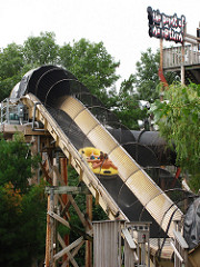 Water coaster lift hill example