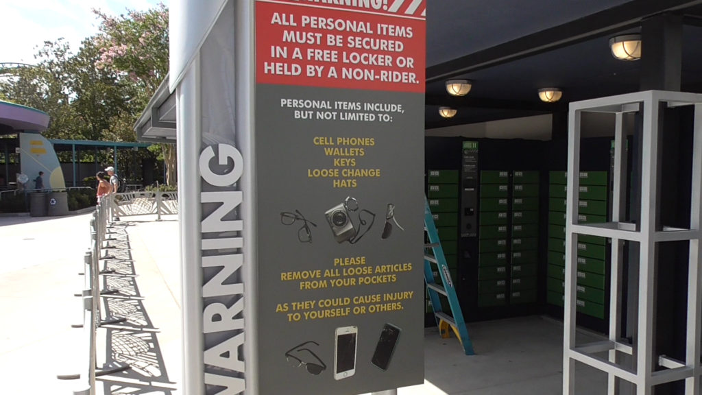 Lockers will still be free while you ride
