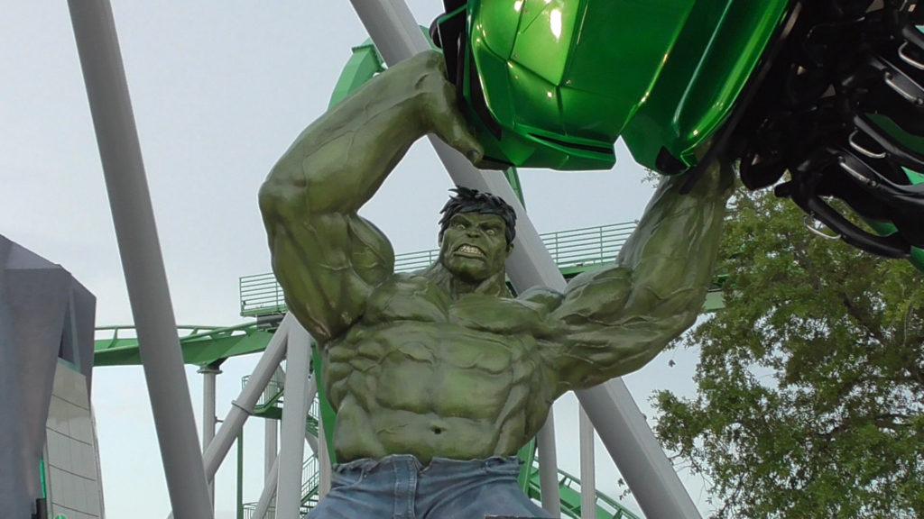 Hulk angry still closed!