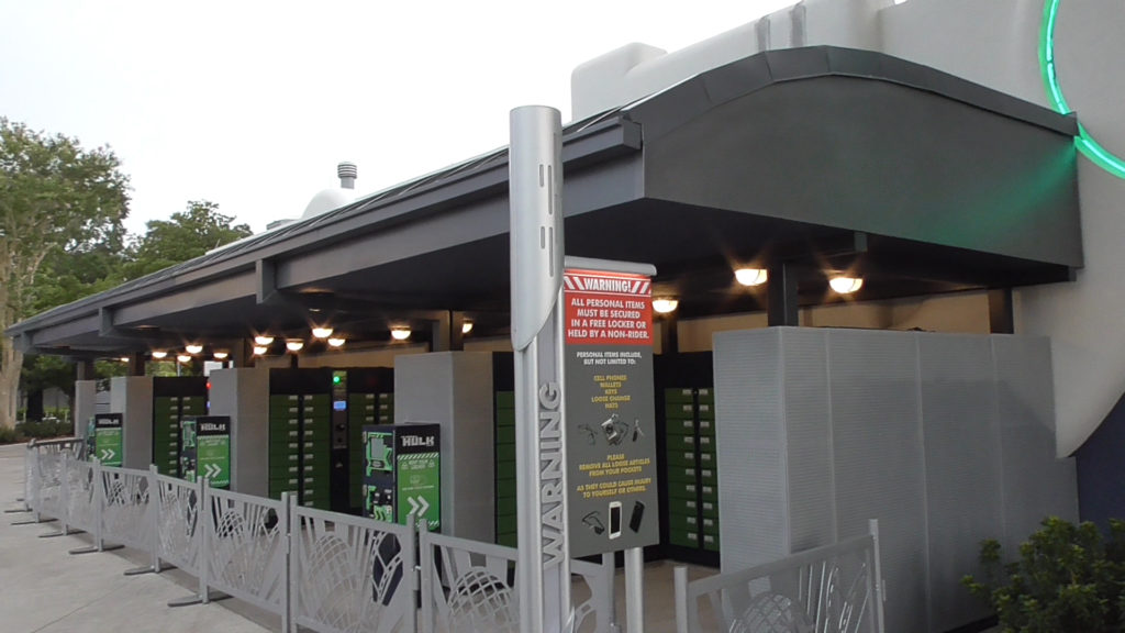 Locker stations are now powered on