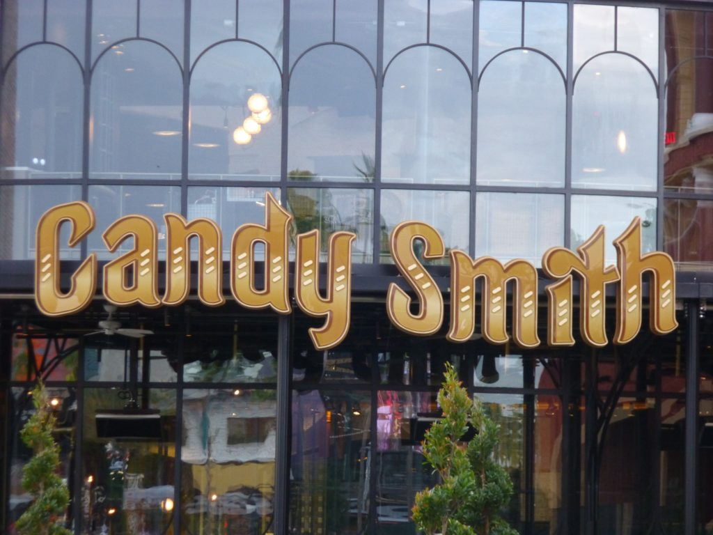 I wonder if they'll have a candy store gift shop to visit in case you don't want to sit for service