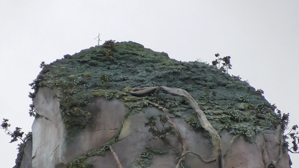 Detail is incredible, looks like far away trees on that mountain