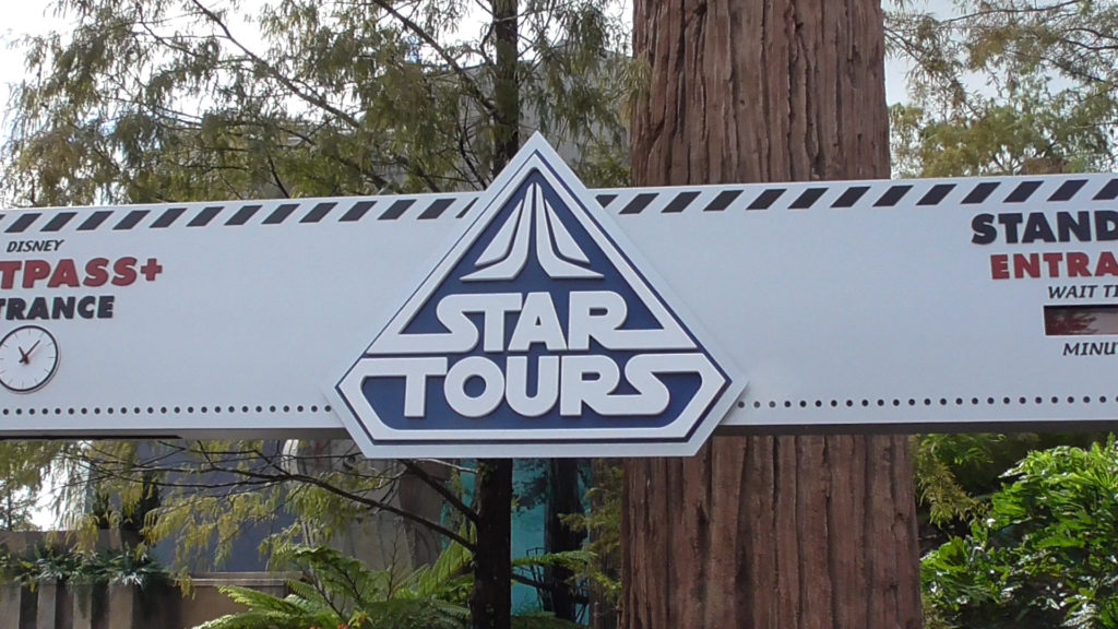 Some rumors say Star Tours will close and turned into a different simulator ride after Star Wars opens. I hope not. I love this ride, in all its incarnations throughout the years