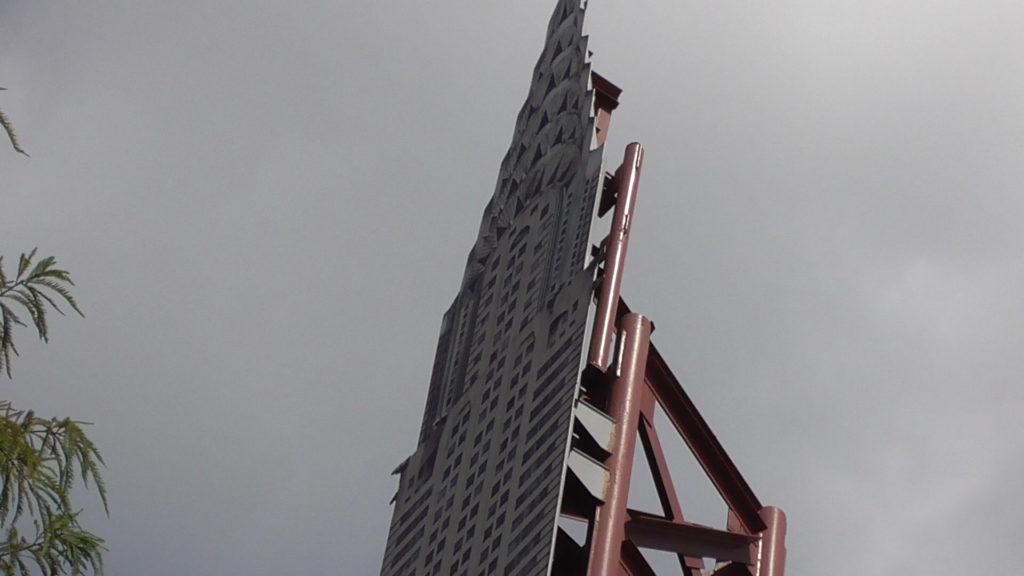 Bye bye flat Chrysler building