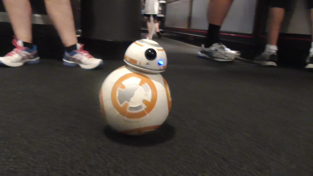 Roaming BB droid