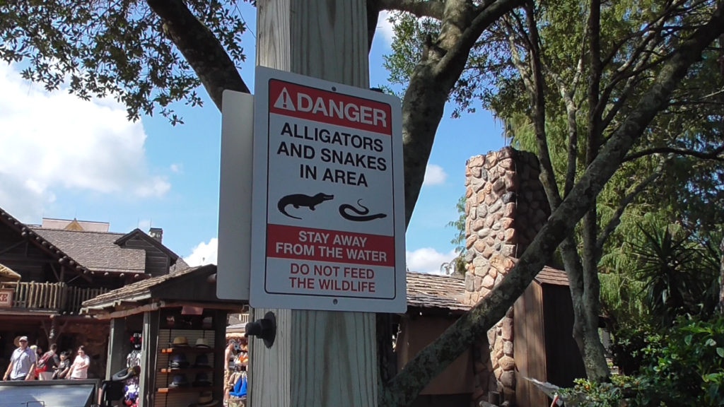 These new warning signs can now be found all over the entire resort