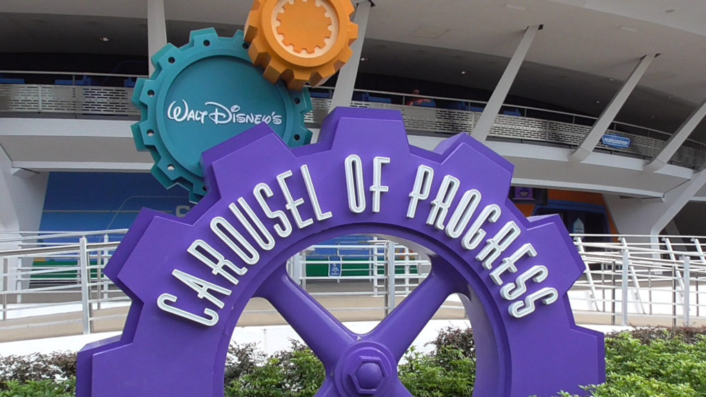 Changes have happened over at the Carousel of Progress