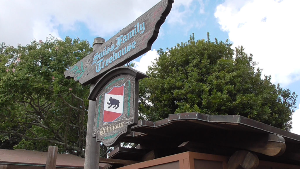 Swiss Family Treehouse is also closed for renovation