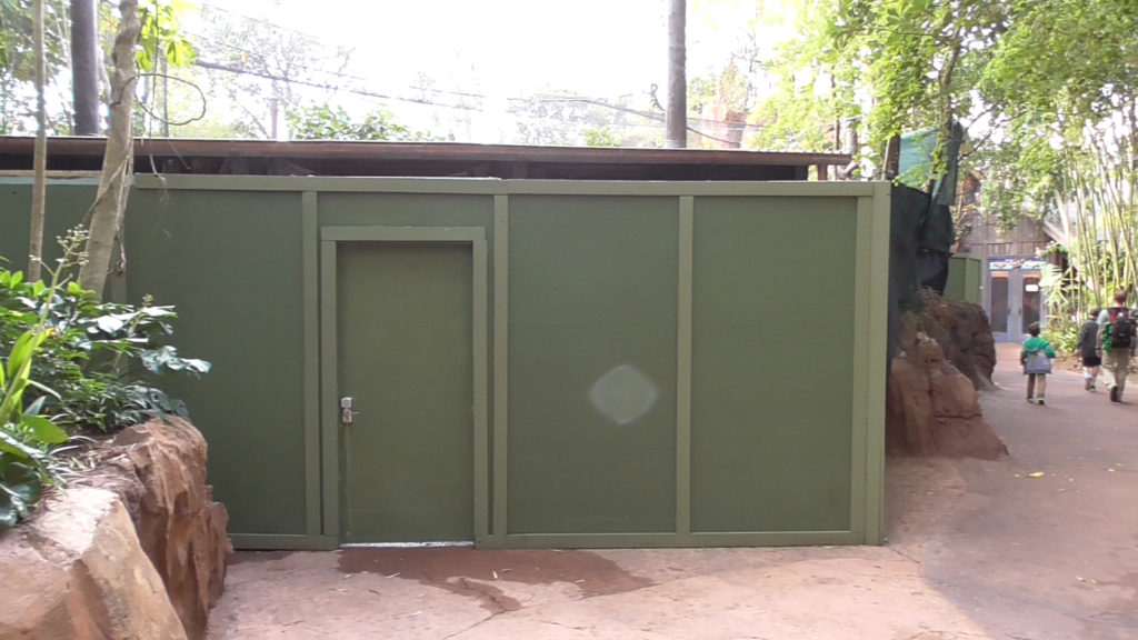 Monkey enclosure at Maharajah Jungle Trek is closed for refurbishment