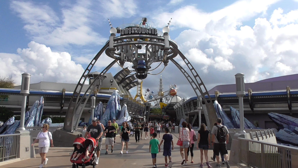 The Tomorrowland rocks are completely finished being painted