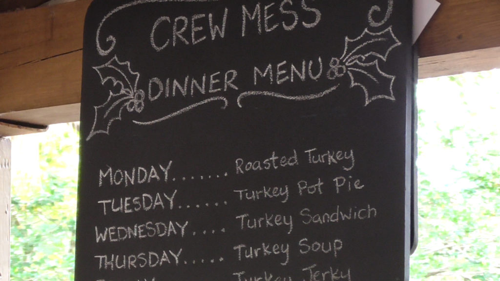 Looks like Turkey's on the menu for a little while