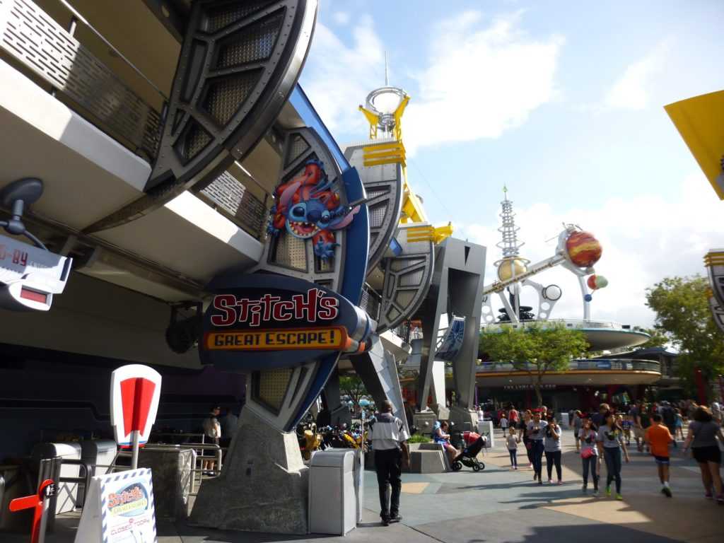Stitch's Great Escape is now only opening seasonaly
