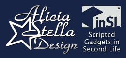 Alicia Stella Design - Best Tip Jars in Second Life