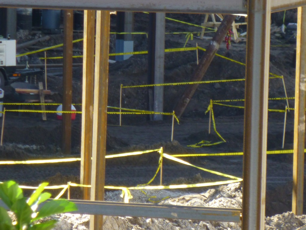 Almost resembles a queue already with the yellow tape set-up