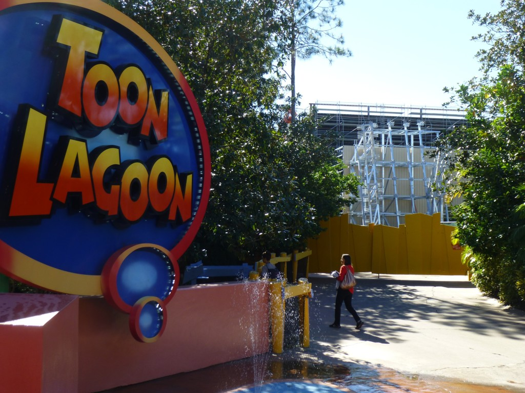 View from Toon Lagoon