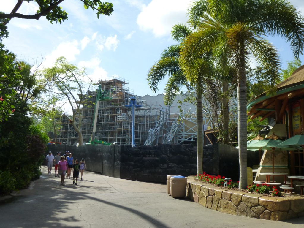 The view from Jurassic Park