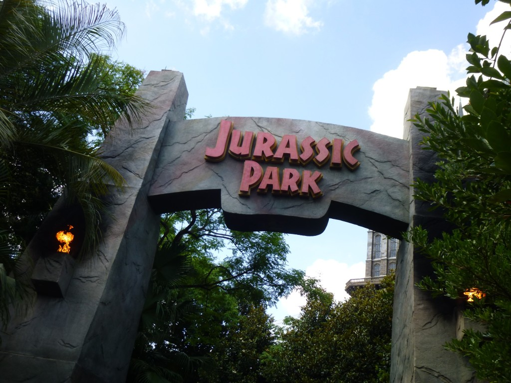 That's all for today's visit to Jurassic Park!